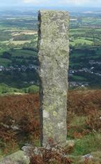 Standing Stone Dartmoor