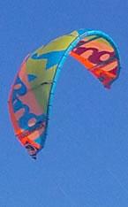 Wind surfing at Westward Ho!